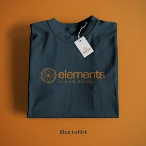 Elements T-Shirt Blue