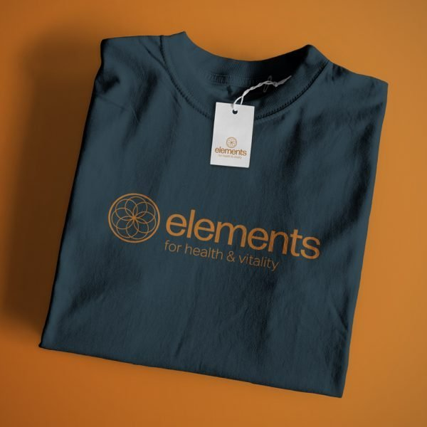 Elements T-Shirt in Blue